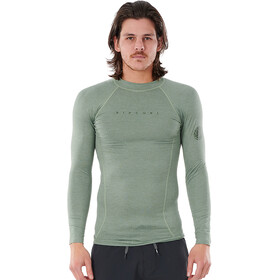 Rip Curl Down Patrol LS UV Shirt Men green marle